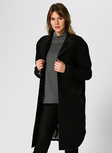 Verda Ceket Siyah